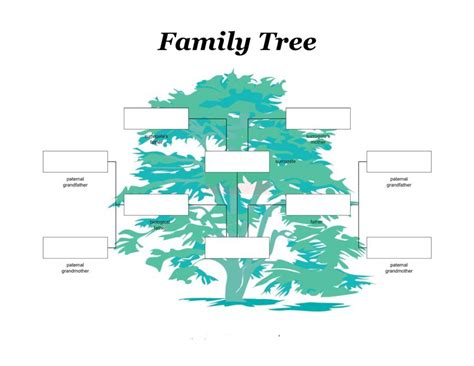 photo family tree template 40 free family tree templates word excel pdf