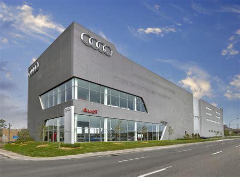 Murox Prefabricated Walls Audi Dealership In Anjou