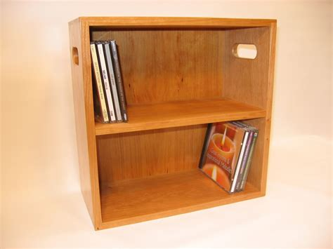 Attractive White Lacquer Finish Chery Wood Dvd Rack With