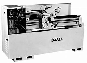 Doall  Romi 13 Inch Metal Lathe Operating  U0026 Parts Manual