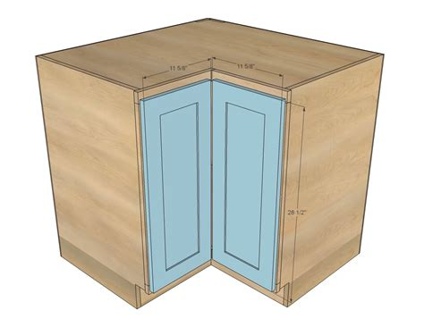 how to build a corner kitchen cabinet white easier 36 quot corner base kitchen cabinet