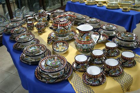 dream    entire talavera dinnerware set