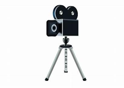 Camera Clipart Cameras Film Icon Fashioned Clip