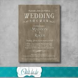 301 moved permanently - Rustic Wedding Shower Invitations