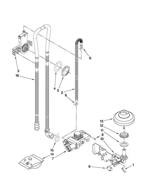 Kitchenaid Dishwasher Parts by Kitchenaid Undercounter Dishwasher Panel Parts