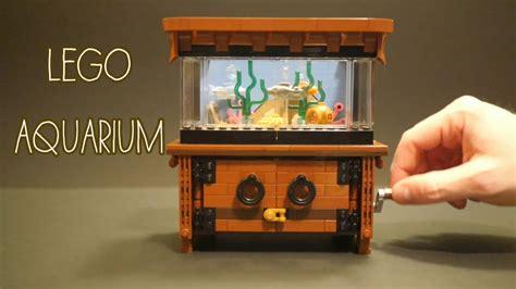 incredible lego clockwork aquarium youtube