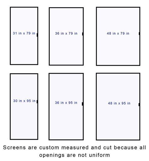 screen door sizes standard patio screen door size exterior doors and
