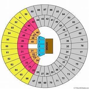 Frank Erwin Center Seating Diagram
