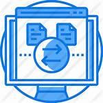Transfer Icon Icons Premium Computer