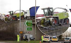 'careful, Or You'll Need A Brand New Combine Harvester