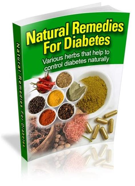 natural cures  diabetes herbal remedies  diabetics
