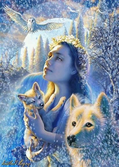 Dreamies Fantasy Diamond Painting Wolf Gemerkt Bild