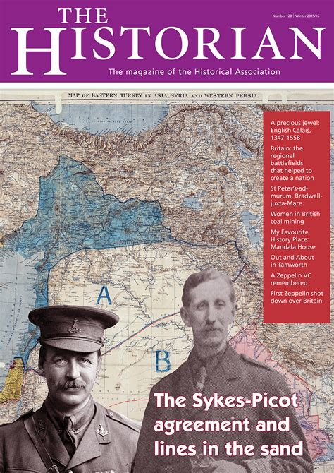 sykes picot agreement historical association
