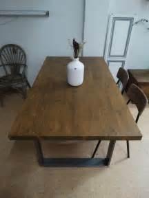 mesa de comedor industrial mesa de comedor hecha