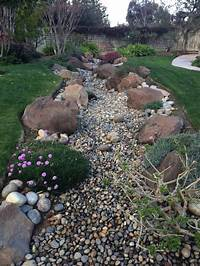 how to landscape your yard Impressive Dry Creek Beds You Should Not Miss