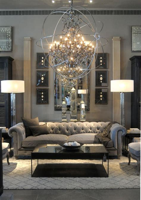 43 Modern Glam Living Room Decorating Ideas Elegant