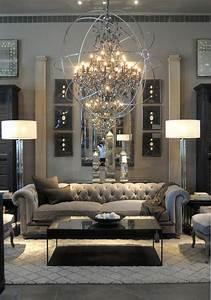 43, Modern, Glam, Living, Room, Decorating, Ideas