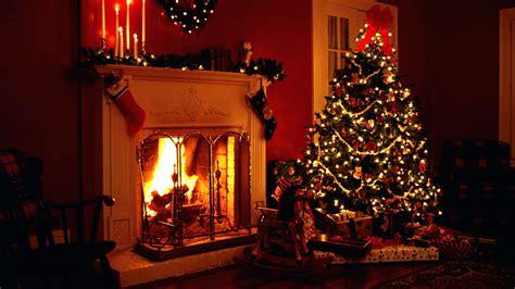 fond ecran hd no 235 l chistmas chemin 233 e flamme sapin d 233 coration cadeaux maison bougies home