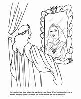 Coloring Snow Pages Fairy Princess Tales Dwarfs Seven Queen Printable Tale Sheets Evil Disney Adults Cinderella Stepmother Stories Story Grimm sketch template