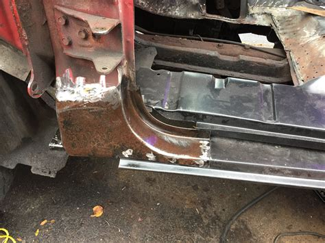 Jeep Xj Floor Pan Install by Inner Rocker Panel Replacement Ford F150 Forum