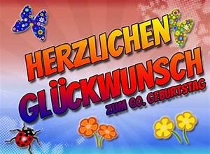 Geburtstagsbilder Zum 60 : 60 geburtstag gl ckw nsche und spr che ~ Buech-reservation.com Haus und Dekorationen