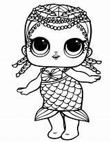 Lol Coloring Surprise Dolls Printable Doll Drawing Sheets Mermaid Unicorn Colorare Colorear Dibujos Cartoon Birthday Pets Desenhos Coloriage Adult Colorir sketch template
