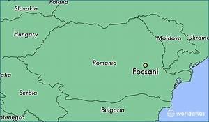 Where Is Focsani  Romania     Focsani  Vrancea Map