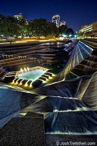 Futuristic Architecture Light Sculpture Fort Worth Texas