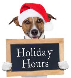 Christmas New Year Holiday Hours Sign