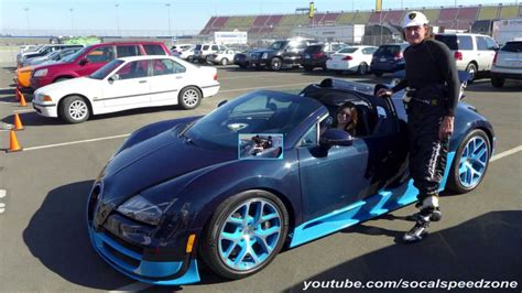 Jenner shared a video showing off her new ride on social media before shortly deleting the shot, according to a report published monday by page six. Kendall Jenner taking a Bugatti Veyron for a drive - YouTube