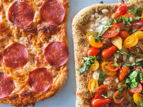 basic pepperoni pizza and four cheese pizza recipe ree