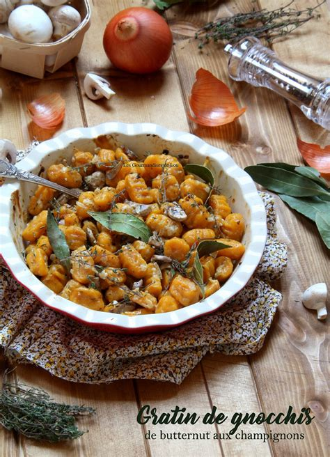 cuisiner des gnocchis gratin de gnocchis de butternut aux chignons les