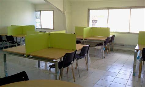 bureau vert anis mobilier de bureau djed agencement