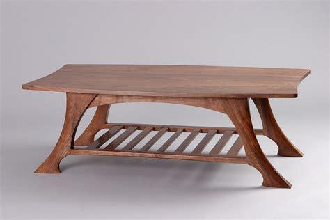 casa grande coffee table black walnut solid wood seth