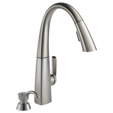 Delta Savile Faucet Problems by 100 Delta Nickel Pull Faucet Savile Kitchen