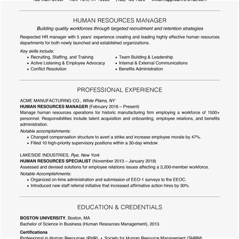 How To Word Your Skills On A Resume by Management Resume Exles And Writing Tips