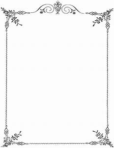 28 best frames borders images on pinterest calendar With word documents frames