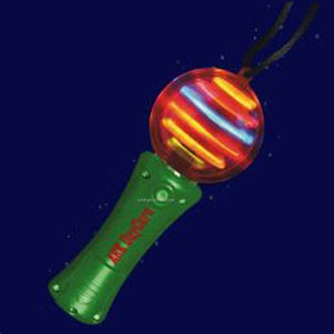 light up spinning green light up spinning wand with multi colored led china