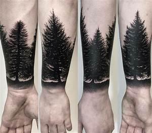 Baum Tattoo Bedeutung : das blackwork tattoo f r ein schlichtes und doch eindrucksvolles design ~ Frokenaadalensverden.com Haus und Dekorationen