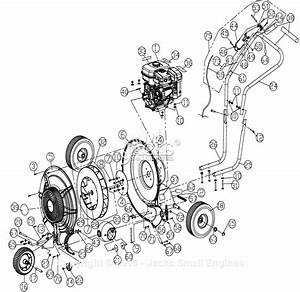 Billy Goat F601s Parts Diagram For Full Assembly