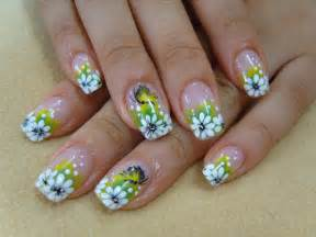 Flower nail art designs trendy mods