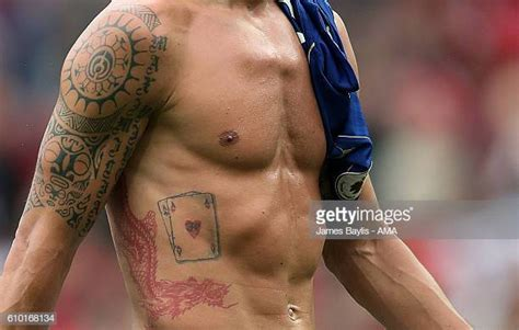 Ibrahimovic Tattoo Photos and Premium High Res Pictures ...