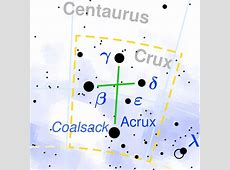 Constellation Crux The Constellations on Sea and Sky