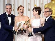 Jennifer Lawrence Oscar 2013 Winner