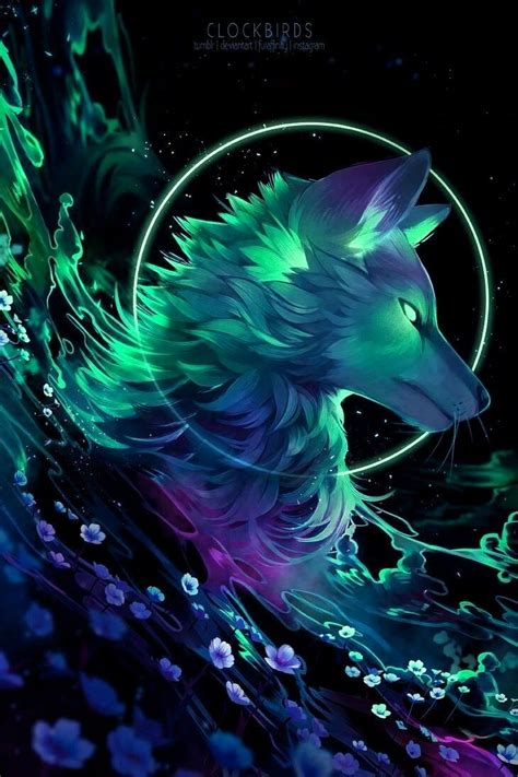 Beautiful Anime Wolf Wallpaper pin by clare on wolves bears in 2019