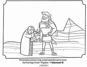 King Saul And David In Cave Coloring Pages Coloring Home
