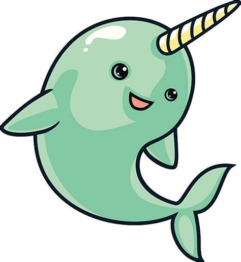 Narwhal Clipart Royalty Free Narwhal Clip Vector Images