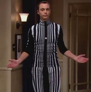 Sheldon's doppler effect costume in penny's party from big ...