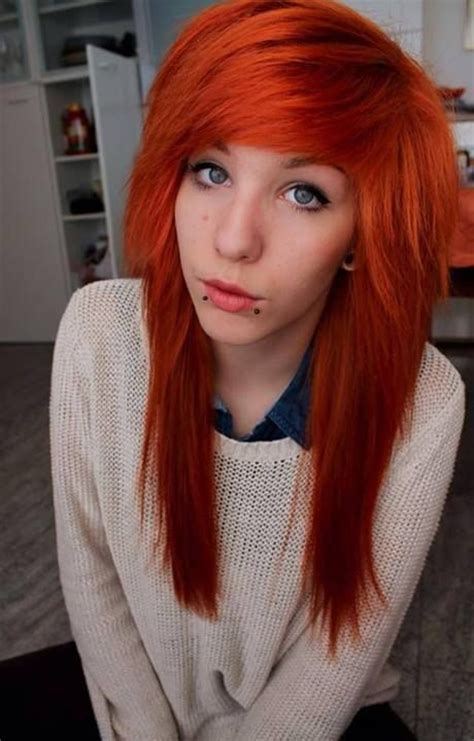 1000 Images About Orangeemoscenehair On Pinterest