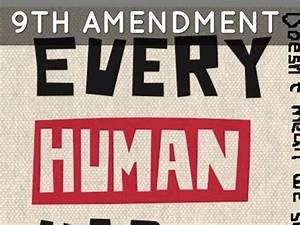 9th Amendment 9 clipart